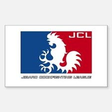 JCL Official Logo Rectangle Decal