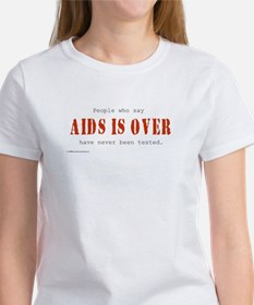 AIDS IS OVER Tee