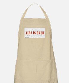 AIDS IS OVER BBQ Apron
