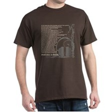 In the beginning... Brown T-Shirt