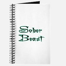 Sober Beast Blue Journal