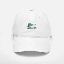 Sober Beast Blue Baseball Baseball Cap