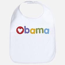 Obama Heart Bib