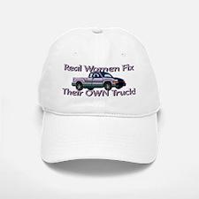 """Women Fix Trucks"" Baseball Baseball Cap"