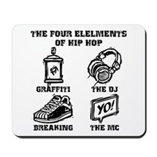 Four Elements Mousepad