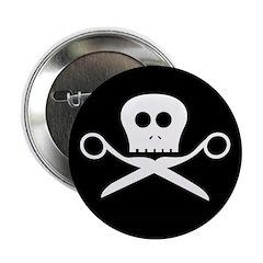 Craft Pirate Scissors Button
