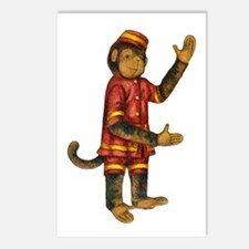 CURIOUS MONKEY Postcards (Package of 8)