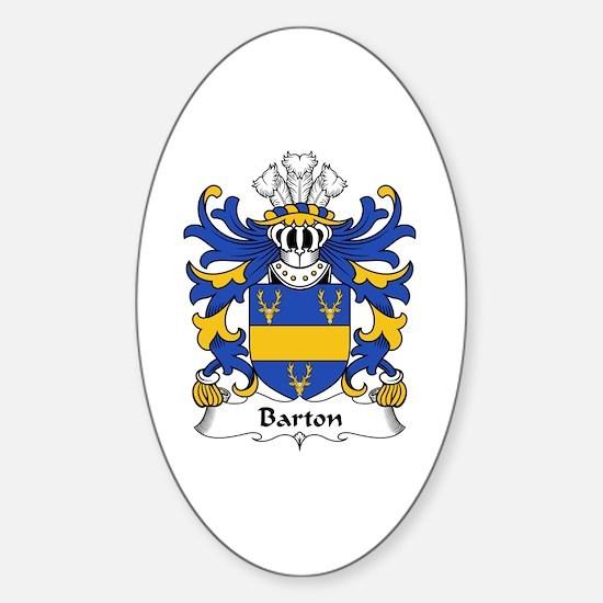 Barton Oval Decal