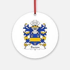 Barton Ornament (Round)