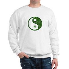 Shamrock Yin and Yang Sweatshirt