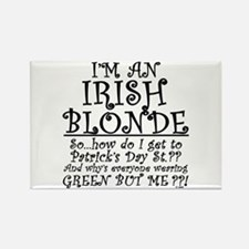 IRISH BLONDE Rectangle Magnet