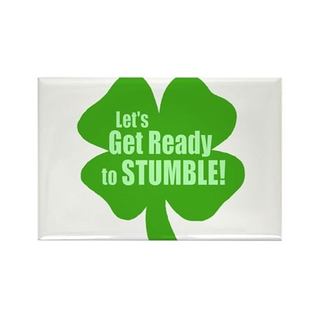 Lets Get Ready To Stumble Rectangle Magnet (10 pac