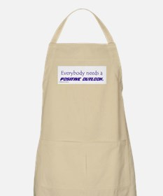 POSITIVE OUTLOOK BBQ Apron