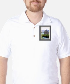 Stone House by River T-Shirt