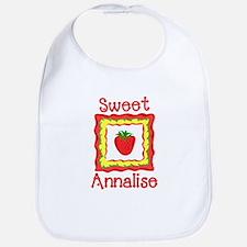Sweet Annalise Bib