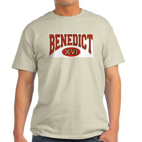"Benedict XVI ""Athletic"" Ash Grey T-Shirt"