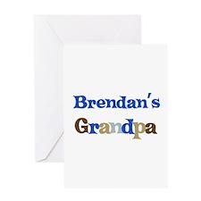 Brendan's Grandpa Greeting Card