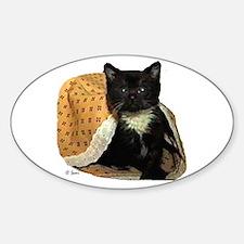 Kitty McDuff Oval Decal