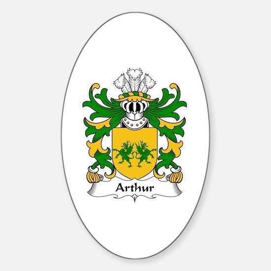 Arthur I (ab uthr pendragon-King Arthur) Decal