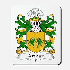 Arthur I (ab uthr pendragon-King Arthur) Mousepad