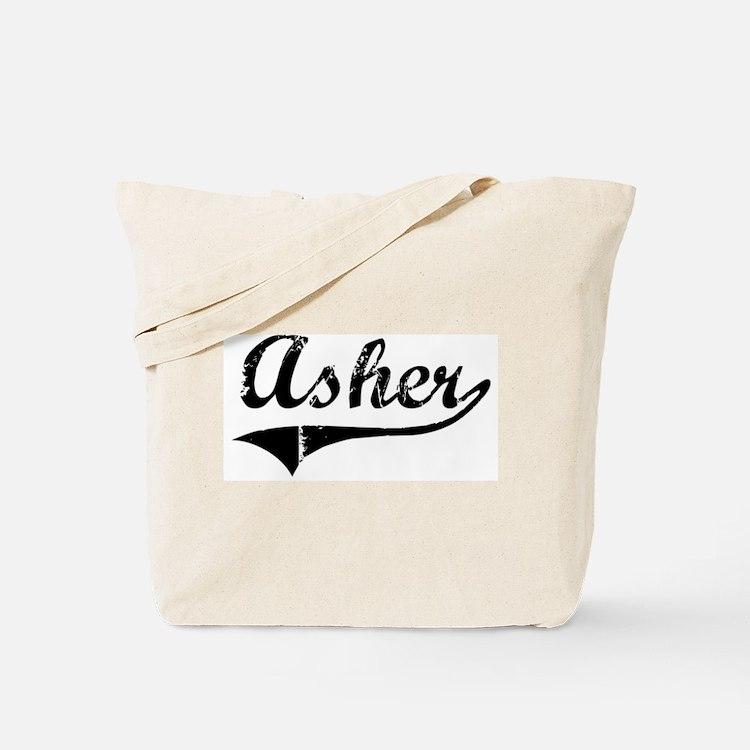 Asher (vintage) Tote Bag