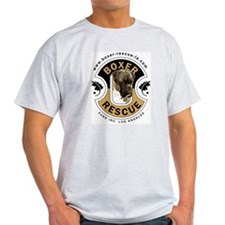 BRLA Logo Ash Grey T-Shirt