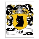 Abel Family Crest Small Poster
