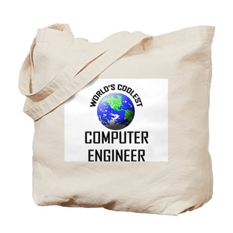 World's Coolest COMPUTER ENGINEER Tote Bag