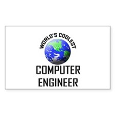 World's Coolest COMPUTER ENGINEER Decal