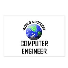 World's Coolest COMPUTER ENGINEER Postcards (Packa