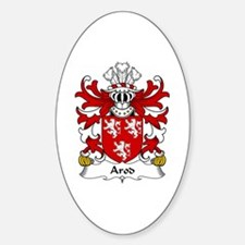 Arod (ap Owain ab Edwin ap Gronwy) Oval Decal