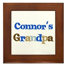 Connor's Grandpa  Framed Tile
