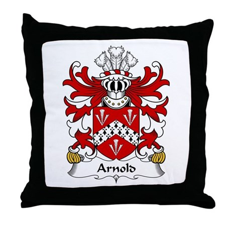 Arnold (Sir, Acquired Llanthony Abbey) Throw Pillo