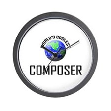World's Coolest COMPOSER Wall Clock