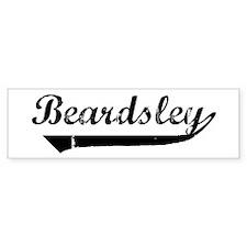 Beardsley (vintage) Bumper Car Sticker