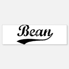 Bean (vintage) Bumper Bumper Bumper Sticker