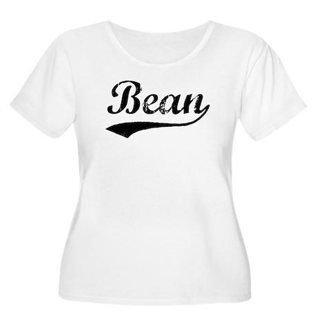 Bean (vintage) Women's Plus Size Scoop Neck T-Shir