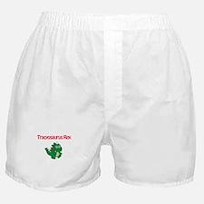 Tracyosaurus Rex Boxer Shorts