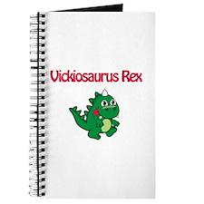 Vickiosaurus Rex Journal