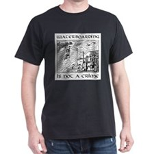 Waterboarding T-Shirt (dark)