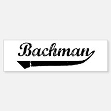 Bachman (vintage) Bumper Bumper Bumper Sticker
