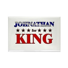 JOHNATHAN for king Rectangle Magnet