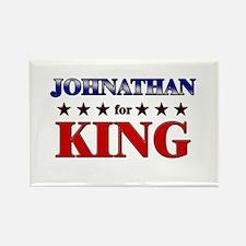 JOHNATHAN for king Rectangle Magnet