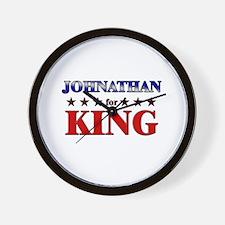 JOHNATHAN for king Wall Clock