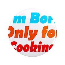 "Cute Cooker 3.5"" Button (100 pack)"