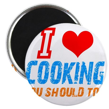 "I love Cooking 2.25"" Magnet (100 pack)"