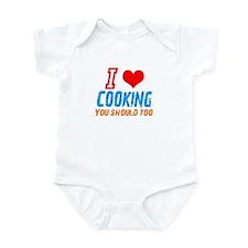 I love Cooking Infant Bodysuit