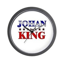JOHAN for king Wall Clock
