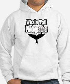 """Whale Tail Photographer"" Hoodie"