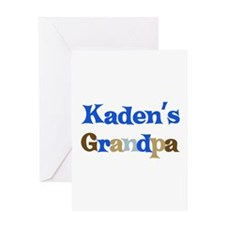 Kaden's Grandpa Greeting Card